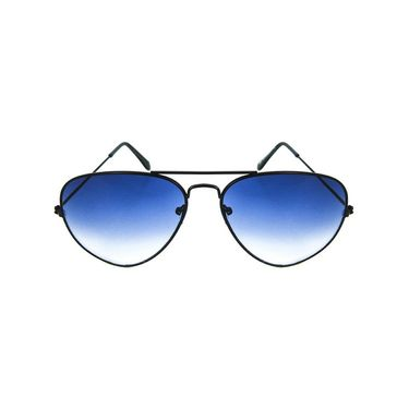 Unisex Aviator Sunglasses_Bes015 - Blue