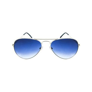 Unisex Aviator Sunglasses_Bes018 - Blue