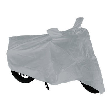 Bike Body Cover for TVS Jupiter - Silver