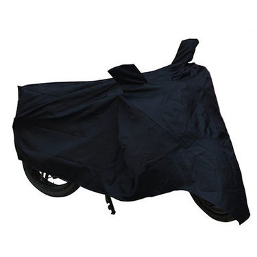 Bike Body Cover for Hero HF Dawn - Black