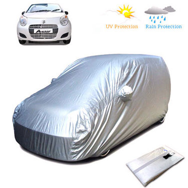 Body Cover for Maruti Suzuki A-Star - Silver
