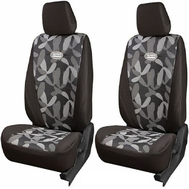 Branded Printed Car Seat Cover for Maruti Suzuki Ritz - Grey