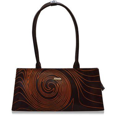 Arpera Genuine Leather Handbag C11447-2B -Brown