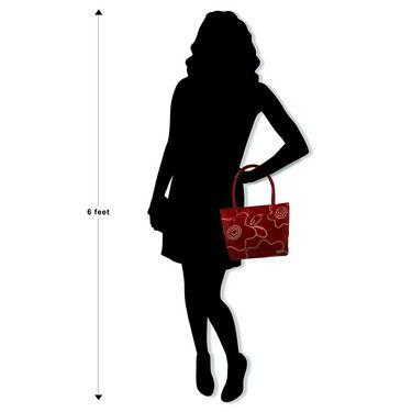 Arpera Genuine Leather Handbag C11479-3A -Red