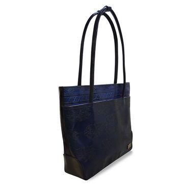 Arpera Genuine Leather Handbag C11479-5A -Blue