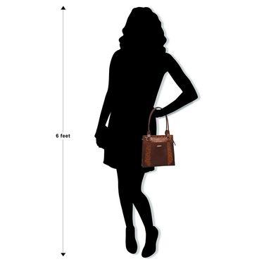 Arpera Brown Ladies Handbag Ssa23