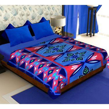 Storyathome Pack of 2 Designer Printed Double Fleece Blanket-CA1210-CA1212
