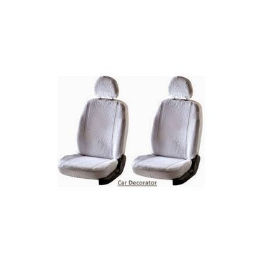 Car Seat Cover For Hyundai Eon - White - CAR_1SC1WHT221