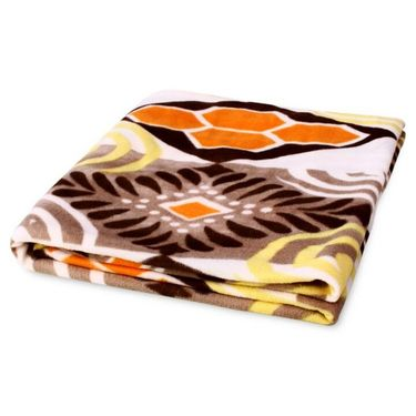 Pack of 3 Designer Printed Double Fleece Blanket-CA_1209
