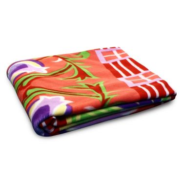 Pack of 5 Designer Printed Double Fleece Blanket-CA_1210
