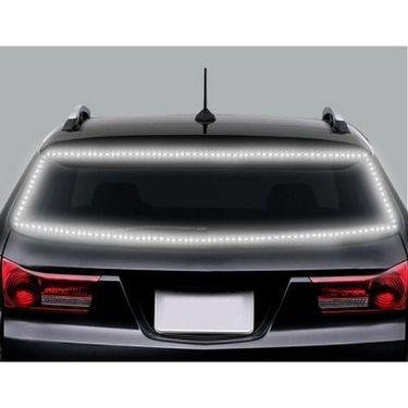 AutoStark 5 Meters Waterproof Cuttable LED Lights Strip Roll - White Car Fancy Lights(White)