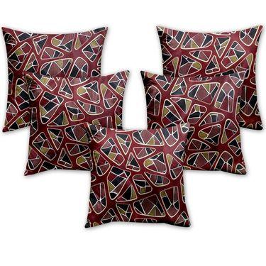 Set of 5  Designer Digital Print Cushion Cover -CH1027