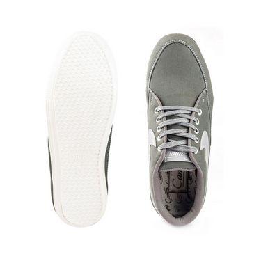 Kohinoor Footwears Canvas Casual Shoes CS02_Gray