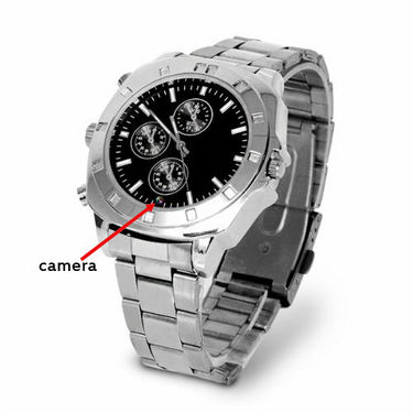 Camera Watch with Video Recording