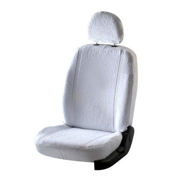 Car Seat Cover For Honda Brio - White