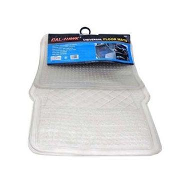 Combo of Car Carpet Mats + Transparent Mat + Non Slip Dash Mat + Hanging Perfume