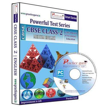 Practice Guru Class 2 - Maths, EVS & English Combo - Smart-130