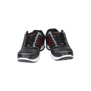Columbus Mesh Sports Shoes Columbus Tab-2004 -Black & Red