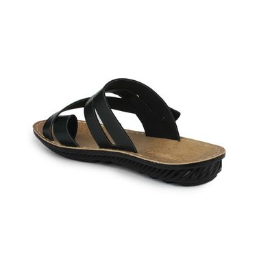 Columbus Synthetic Leather Green Sandals -2701