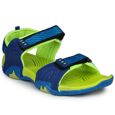 Columbus PU RBlue & Parrot  Casual Floaters -Ab-773