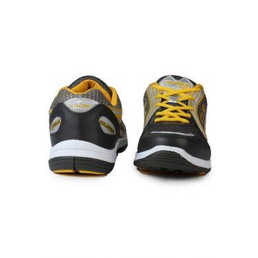 Columbus Grey & Yellow Sports Shoe C09