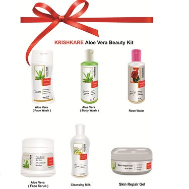 Krishkare Aloe Vera Beauty Kit