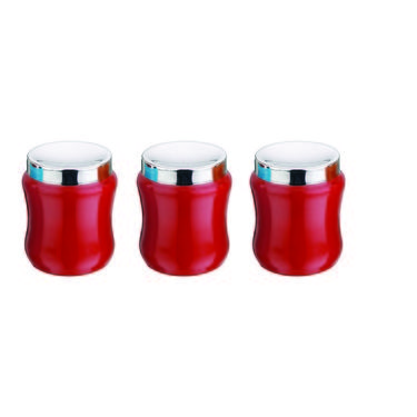 TCS Ribbed Design M Lid 3 pcs
