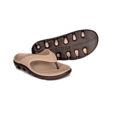 Crocs Beige Flip Flops - oc08