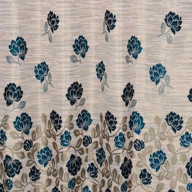 Set of 4 Printed Door curtain-7 feet-DBR_4_4016