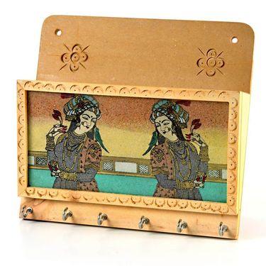 Little India Gemstone Painting Magazine Keychain Holder -116