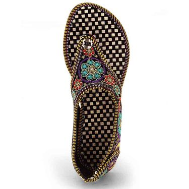 Branded Womens Sandal Multicolor -MO323