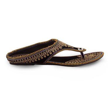 Branded Womens Sandal Black -MO327