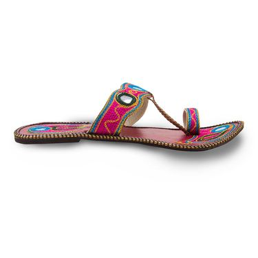 Branded Womens Sandal Multicolor -MO330