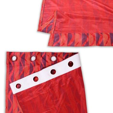 Set of 4 Printed Door curtain-7 feet-DNR_2_3023