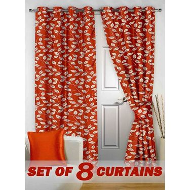 Set of 8 Printed Door curtain-7 feet-DNR_4_2019