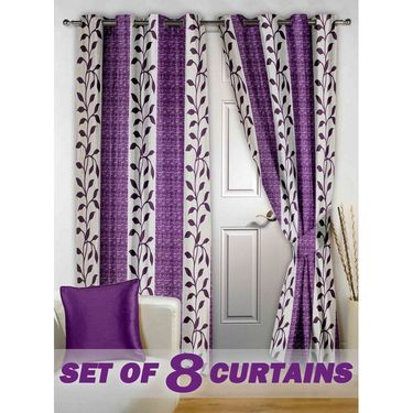 Set of 8 Printed Door curtain-7 feet-DNR_4_2026
