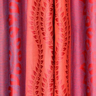Set of 8 Printed Door curtain-7 feet-DNR_4_3021