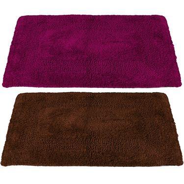 Storyathome Set of 2 Cotton Blend Doormat-DN_1418-1417-Z