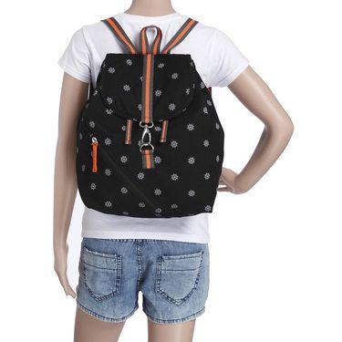 Be For Bag Canvas Backpack Black -Dora