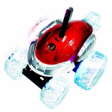 Mitashi Dash Rechargeable RC Flip N Spin Tornado Car - Red