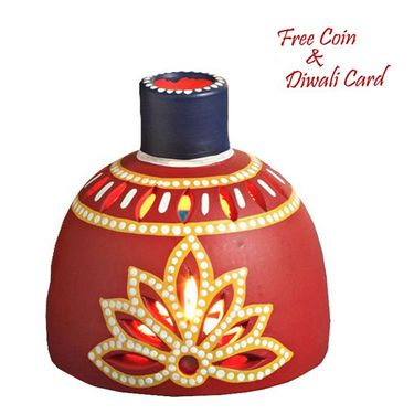 A lovely Red Tea light holder