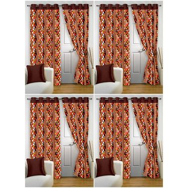 Storyathome Set 8 Door curtain-7 feet-DTZ_4-1007