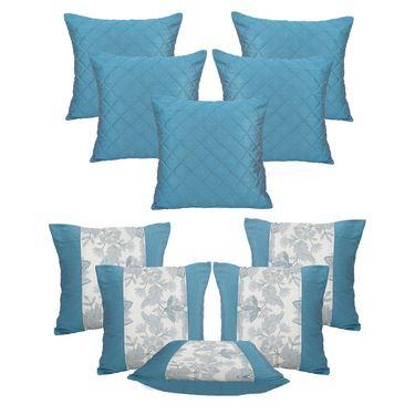 Dekor World Set of 10 Designer Printed Cushion Cover-DWCB-12-180