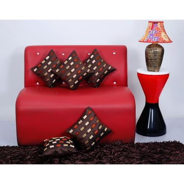 Set of 5 Dekor World Design Cushion Cover-DWCC-12-092