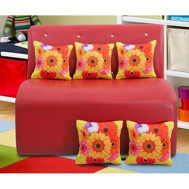 Dekor world Digital Cushion Collecetion (Pack of 5 Pcs)-DWCC-12-162-5