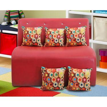 Dekor world Digital Cushion Collecetion (Pack of 5 Pcs)-DWCC-12-163-5