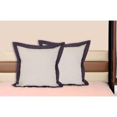 Set of 2 Dekor World Cotton Big Cushion Cover-DWCC-24-079