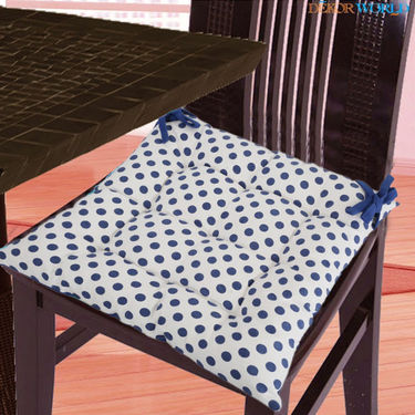 Dekor World Cotton Printed Chair Pad-DWCP-047