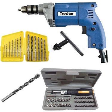 Delhi Haat 41 pcs Screwdriver Toolkit & 10mm Drill Machine