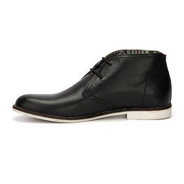 Delize Leather Boots - Black-3090